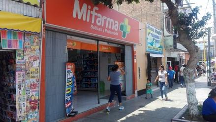 Delincuentes asaltan farmacia en pleno centro de Chimbote
