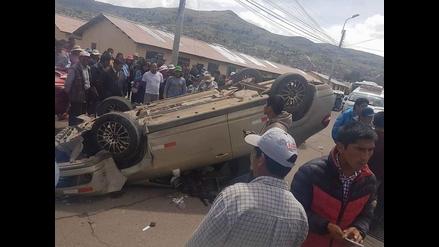 Puno: militares en aparente estado de ebriedad protagonizaron accidente