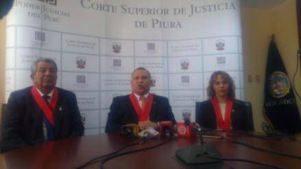 Piura: OCMA decidirá si procede solicitud de destitución de jueces