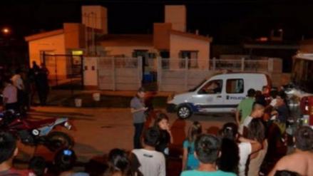 Un argentino mató a su esposa y sus cuatro hijos e incendió la casa