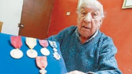 Francia condecorará a héroe peruano que peleó en la II Guerra Mundial