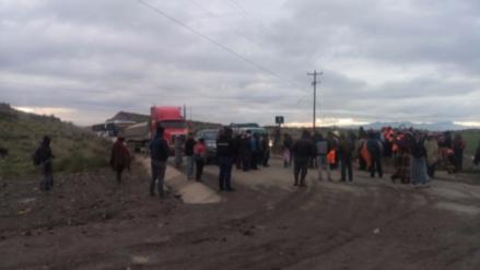 Coporaque en estado de emergencia por paro contra minera