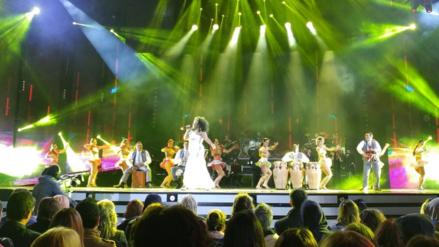 Video | Viña del Mar: Afrocandela hizo bailar a Maluma