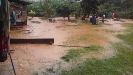 Satipo: desborde de riachuelo Quimotari inunda viviendas y cultivos