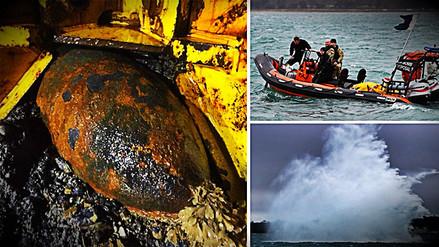 Encuentran una bomba de la Segunda Guerra Mundial en puerto de Inglaterra