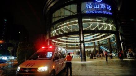 Condenado a 30 años el hombre que detonó una bomba en un tren de Taipei