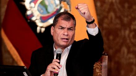 """Rafael Correa: """"Si gana la oposición tendré que regresar"""