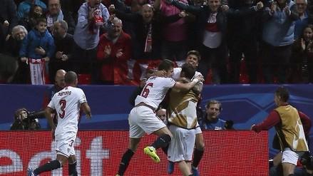 Sevilla ganó 2-1 a Leicester City en encuentro por la Champions League