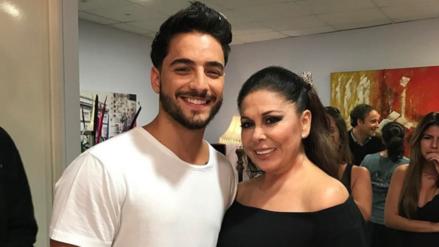 Video | Maluma cantó a Isabel Pantoja en su camerino