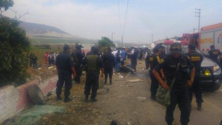 Trujillo: Balón de Oxígeno causó incendio en triple choque de Moche