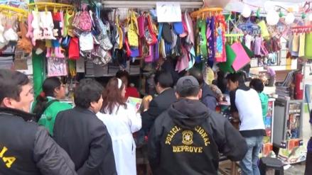 Huancayo: incautan 500 útiles escolares sin registro sanitario