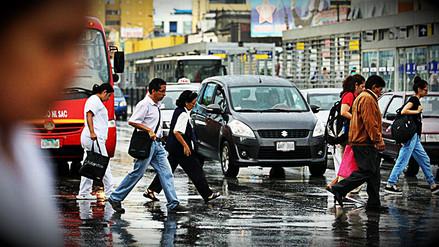 Así amaneció Lima tras la intensa lluvia que cayó por la madrugada