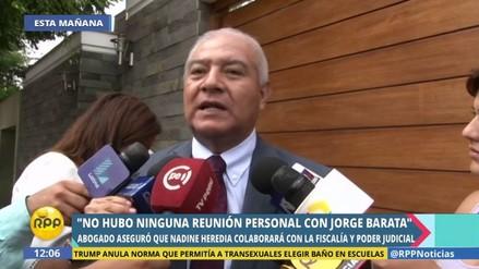 """Abogado de Nadine Heredia: """"Los aportes fueron de corte político"""""""