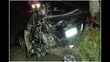 Un muerto dejó accidente de tránsito en Chimbote