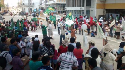 Carnaval piurano se vive en el distrito de Bernal en Sechura