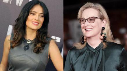 Salma Hayek y Meryl Streep serán presentadoras en los Oscar