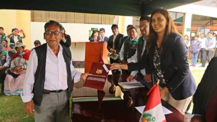 GRA otorgará títulos a más de 43 mil predios rurales
