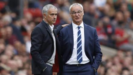 Klopp y Mourinho defendieron a Ranieri tras ser despedido del Leicester
