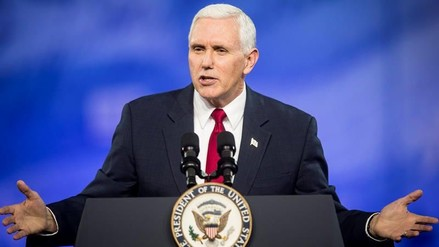 "Mike Pence describe a Trump como ""un nuevo Reagan"""