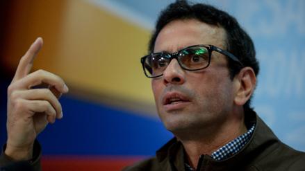 Denuncian al líder opositor venezolano Capriles por caso Odebrecht