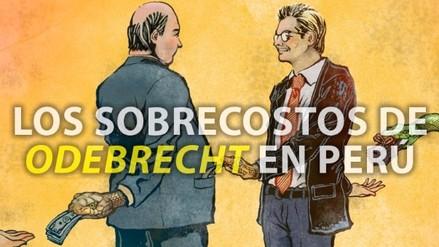 Los sobrecostos de Odebrecht en Perú