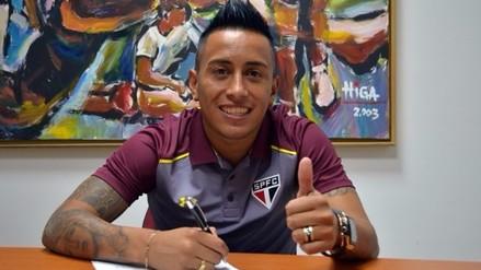 Christian Cueva extendió su contrato con Sao Paulo hasta el 2022