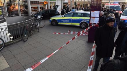 Video | Policía de Alemania abatió a un hombre que atropelló a tres personas