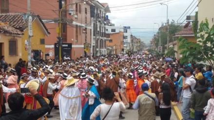 Carnaval ayacuchano se inició con el ingreso del Ño Carnavalón