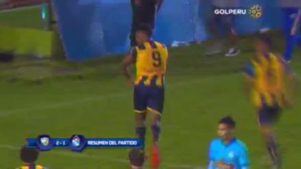 Cristal cayó 2-1 ante Sport Rosario y pierde el invicto en el Torneo