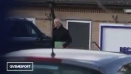 Claudio Ranieri se despidió de los jugadores del Leicester City