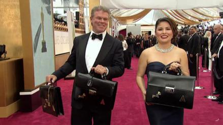 Esta pareja ya conoce los nombres de los ganadores de los Premios Oscar