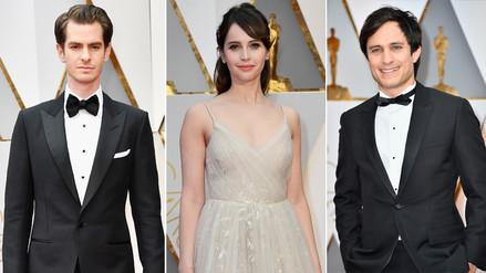 Oscar 2017: famosos derrochan glamour en la alfombra roja