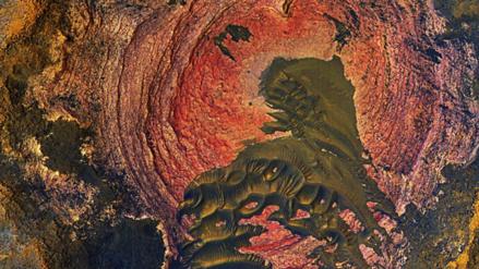 La NASA publicó una fotografía única de la superficie de Marte
