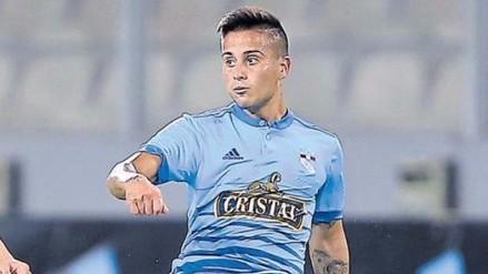 Cristian Ortiz debutó en Sporting Cristal con un golazo de tiro libre