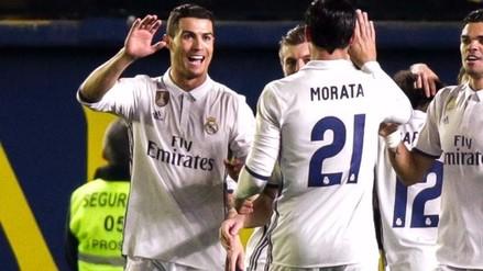 Cristiano Ronaldo pasó a ser el jugador con más goles de penal de la Liga