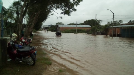 Moyobamba y Rioja afectadas por desborde de ríos y quebradas