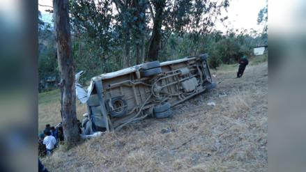 Cajamarca: un muerto y más de 20 heridos en despiste de camión