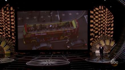 Así se dio el afortunado paseo que llevó a un grupo de pasajeros a los Oscar