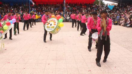 Juliaca: Realizan XX concurso de tarkadas y pinquilladas por carnaval
