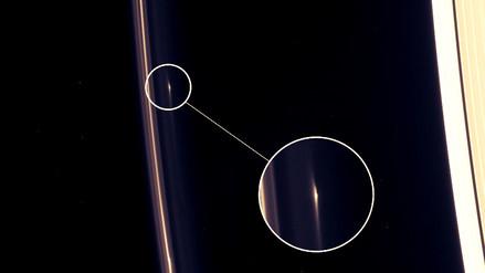 La NASA descubre objetos resistentes a impactos en uno de los anillos de Saturno