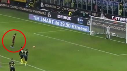 Diego Perotti llama la atención con su peculiar estilo para patear penales