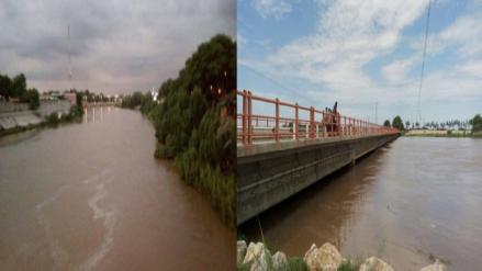 Caudal del río Piura incrementó en más de 400% debido a las lluvias