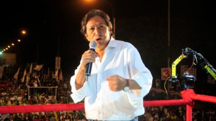 Poder Judicial declara inadmisible recurso de queja de Alejandro Toledo