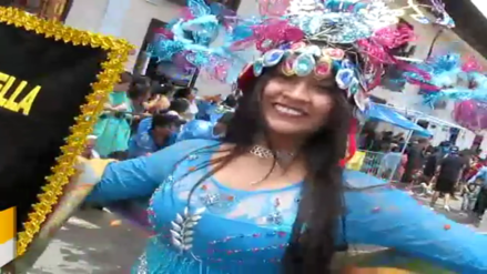 Miles de cajamarquinos y visitantes disfrutan de las fiestas de carnaval