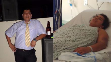Detienen a sujeto que propinó brutal agresión a su pareja en Chiclayo