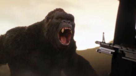 King Kong regresa en el nuevo tráiler de Skull Island