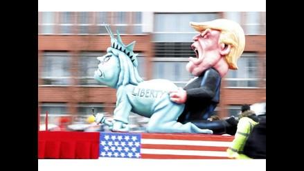 Donald Trump fue centro de las burlas en Carnaval de Alemania