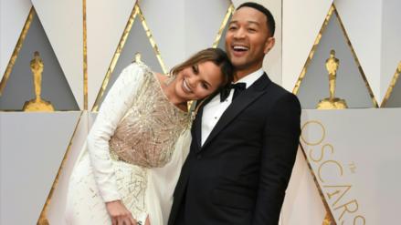 Esposa de John Legend se quedó dormida en los Oscar