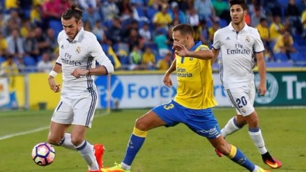 Real Madrid empató ante Las Palmas y perdió la punta de la Liga Santander