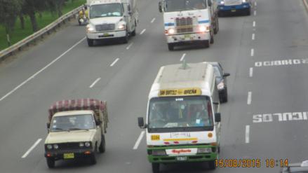 Video | Cúster del accidente en Panamericana debía 10 mil soles en papeletas